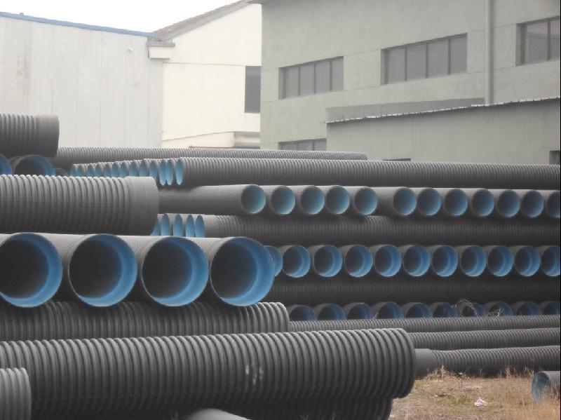 HDPE双壁波纹管 钢带管 金属缠绕管