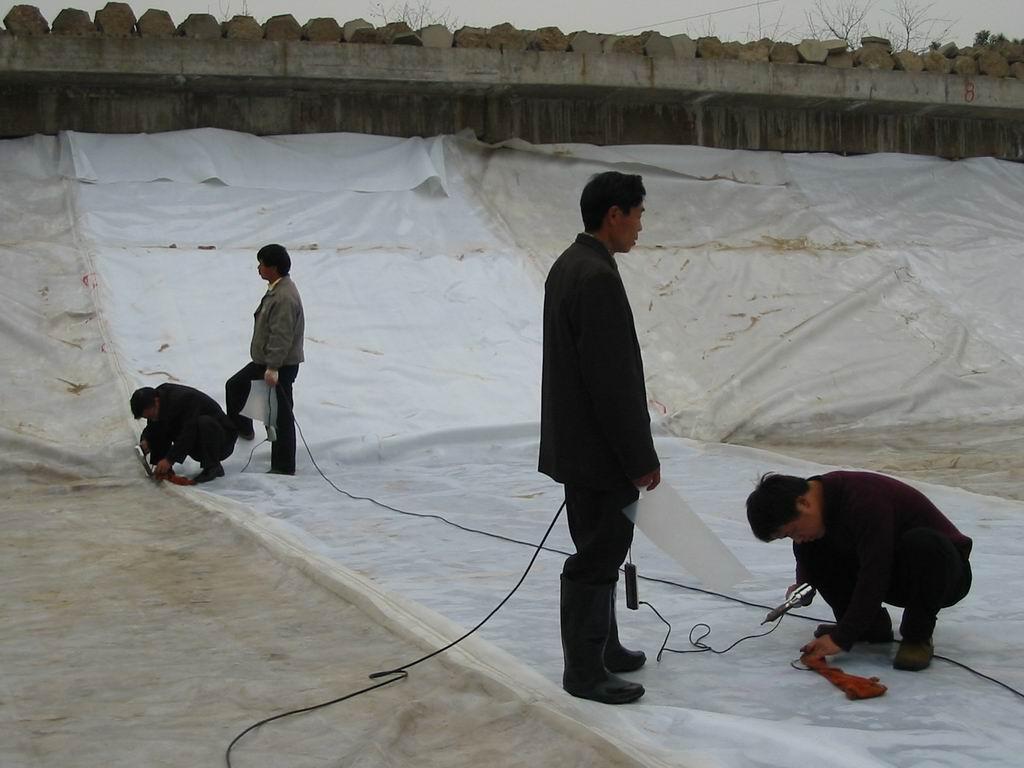软式透水管 土工布