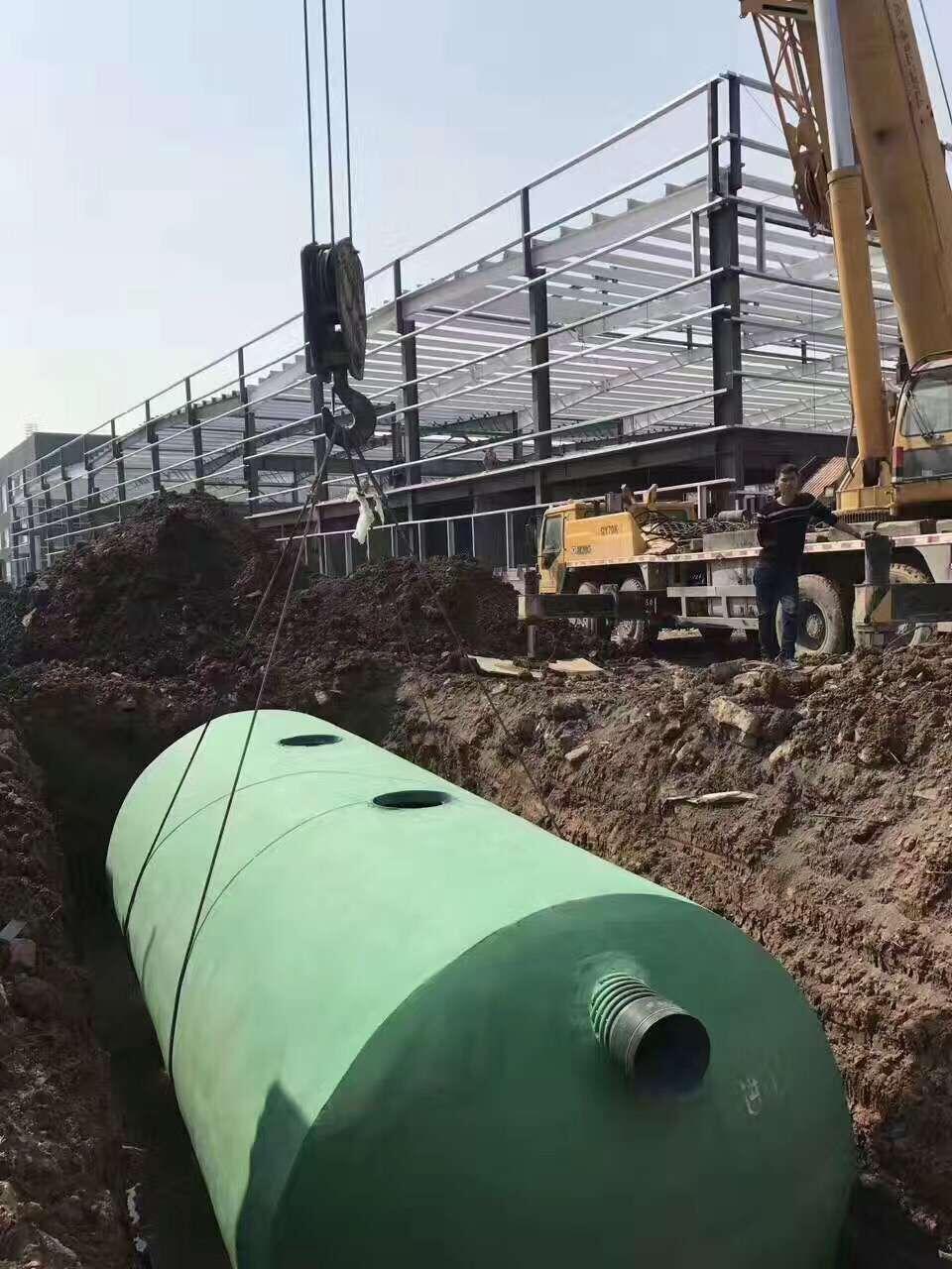 玻璃钢商砼复合化粪池
